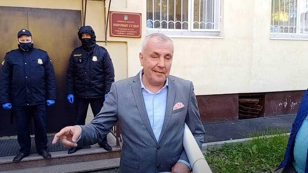 Приговор брянскому скандалисту Коломейцеву суд огласит 5 июня