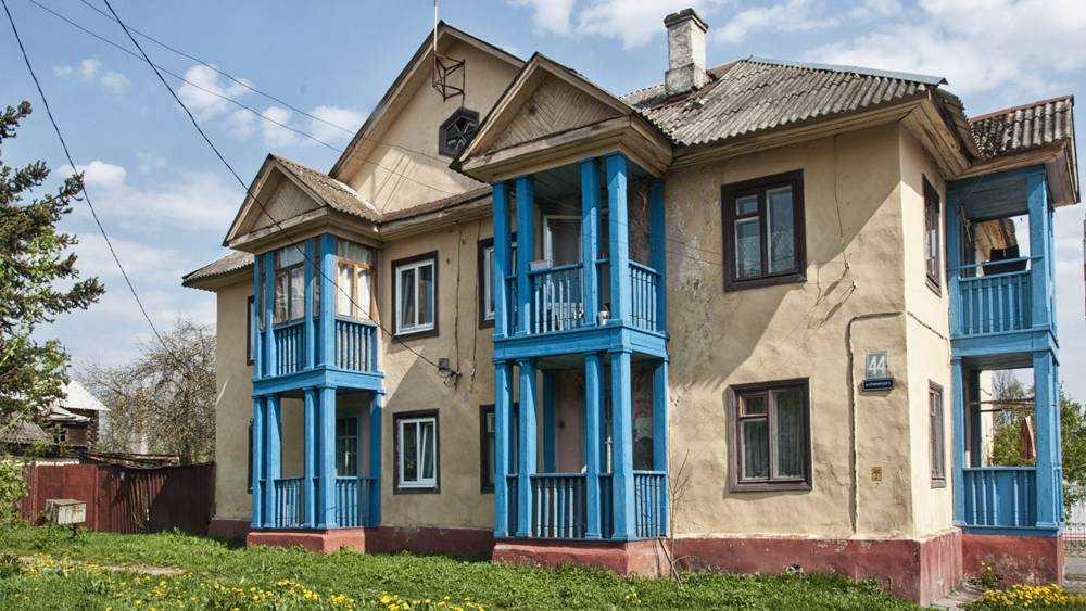 В Брянске на улице Луначарского снесли старое здание