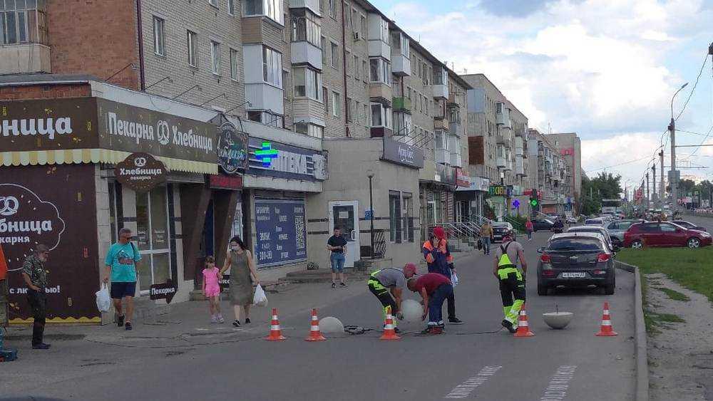В Брянске закрыли для машин проезд вдоль Московского проспекта
