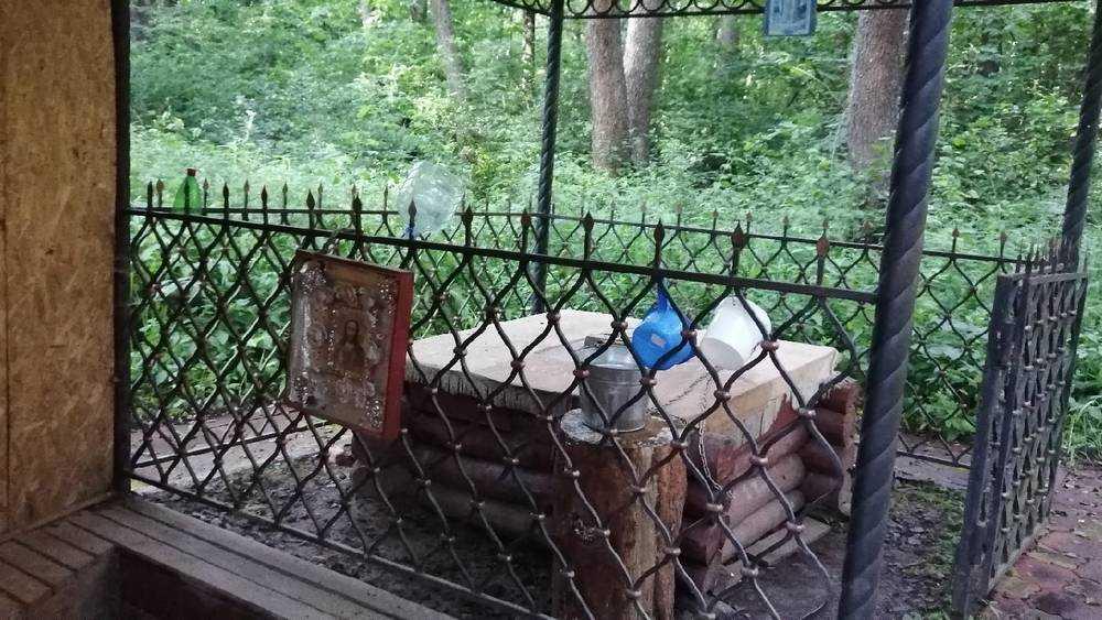 В Брянской области стала пропадать древняя монастырская криница