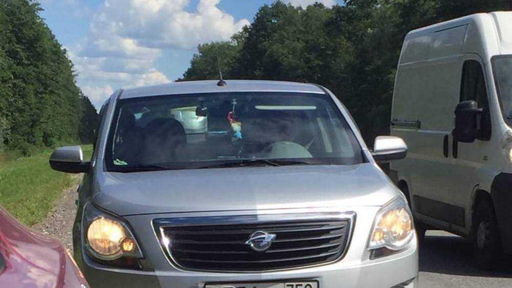 Брянская автомобилистка рассказала об убийственном маневре дамы