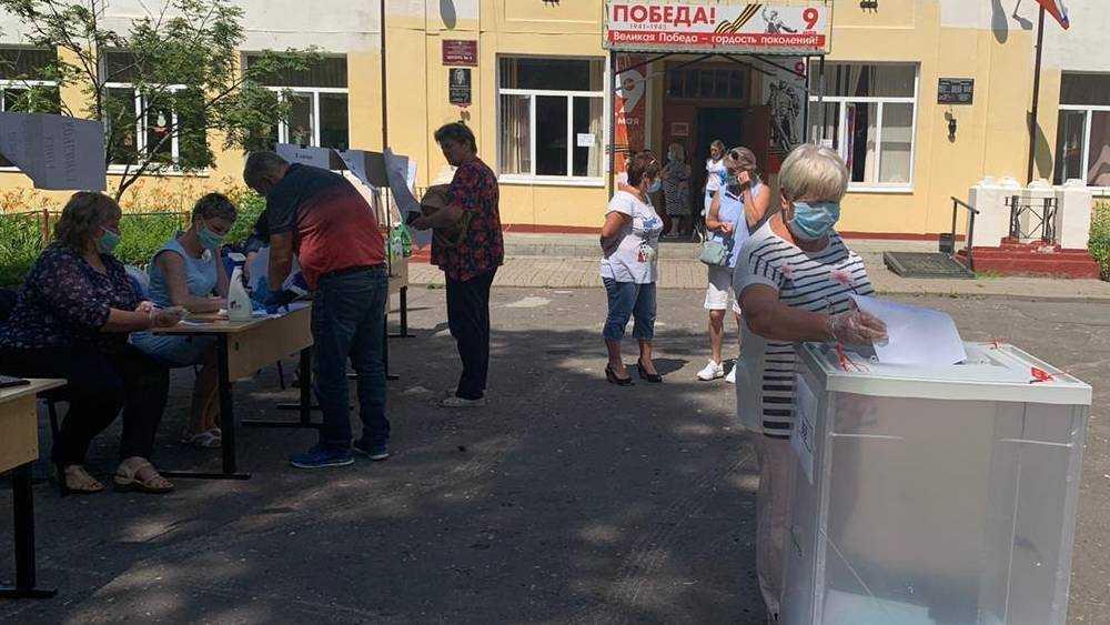 В Сельцо показали высокую активность при голосовании по Конституции