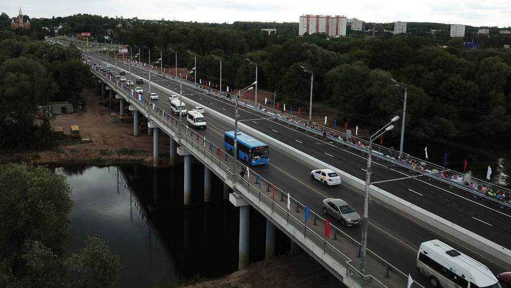 В Брянской области строительство мостов ускорили в несколько раз