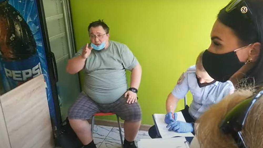 Брянский «партизан» Куприянов сцепился с чиновницей