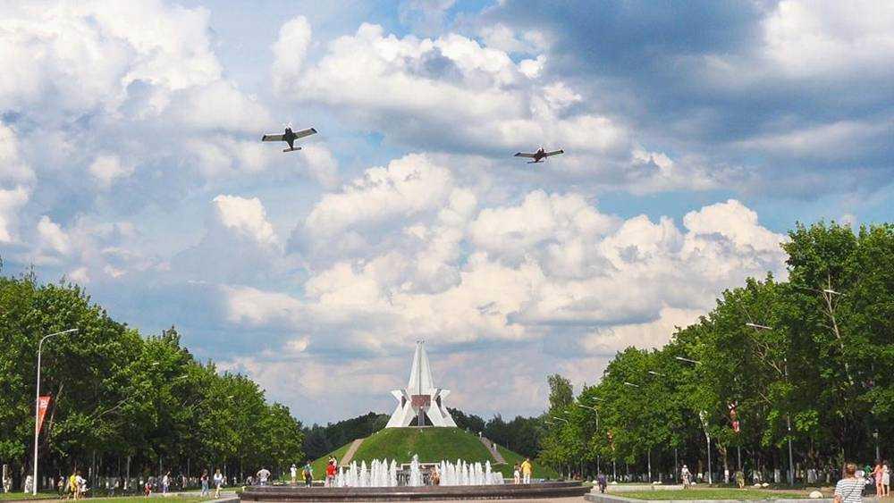 Брянские летчики в небе по-своему заявили о целостности России