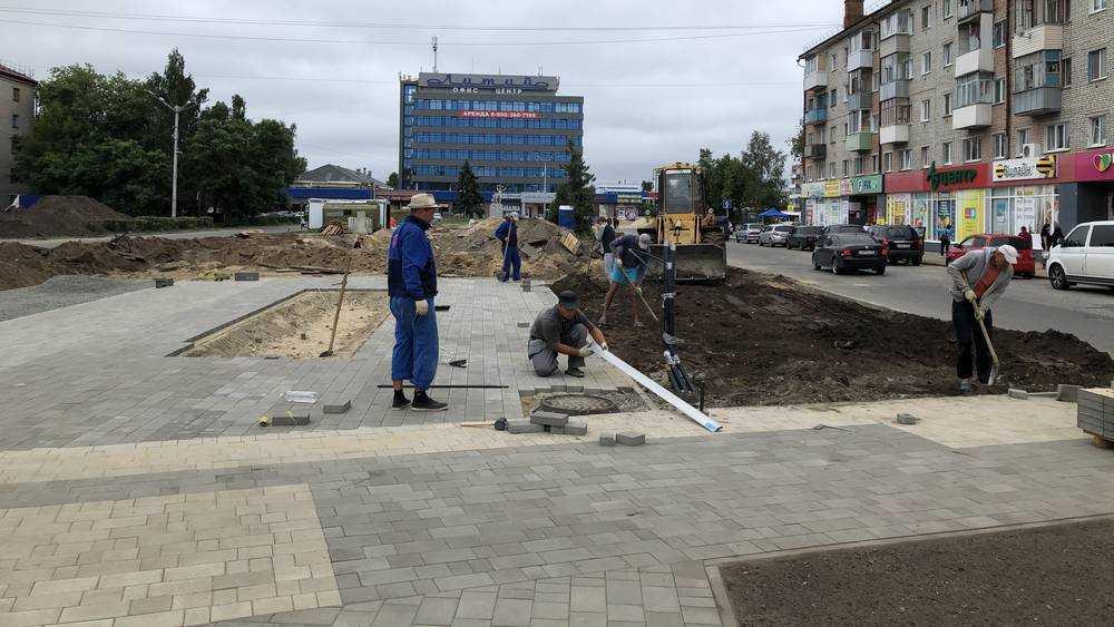 В Брянске сквер у «Лития» станет экзаменом для строителей и горожан