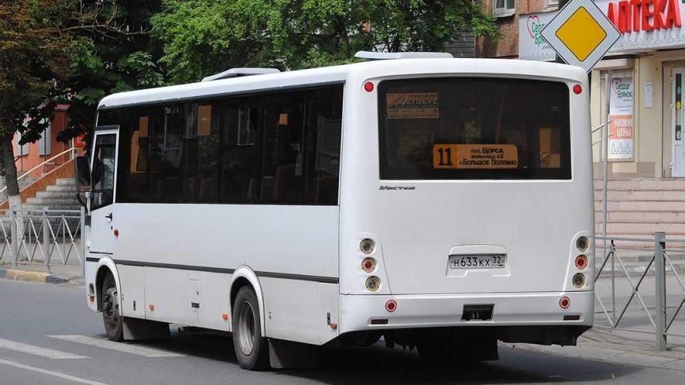 В Брянске изменится маршрут движения автобуса №11