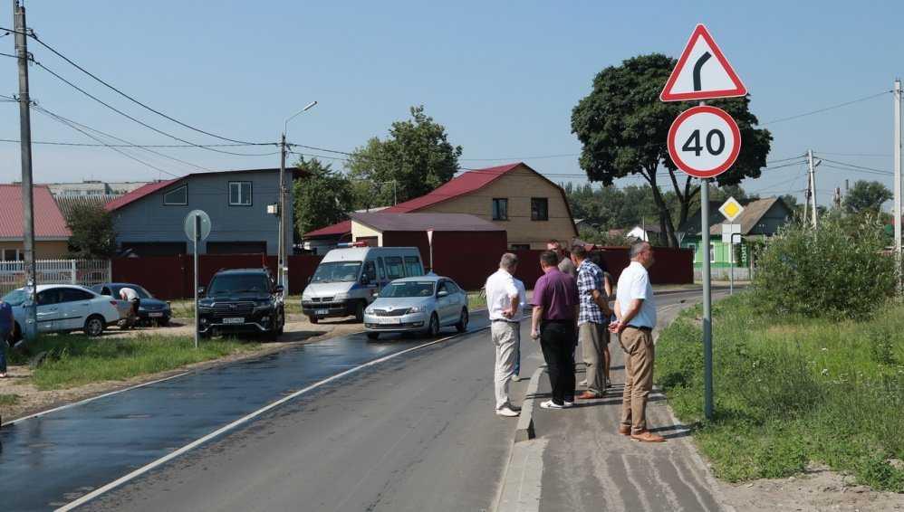 Власти Брянска оценили ремонт дороги на улице Чичерина