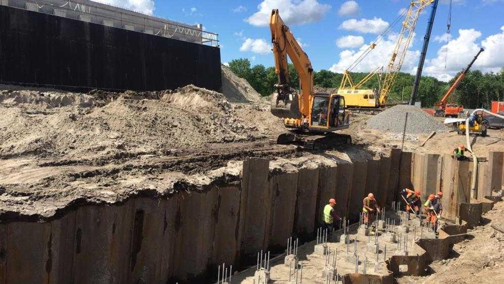 В Брянске начался второй этап строительства дороги от вокзала к «Метро»