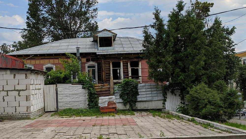 В Брянске восстановят после пожара историческое здание на улице Фокина