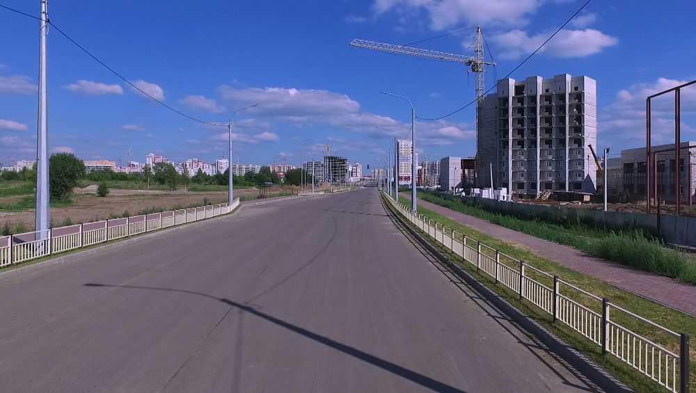 В Брянске дорогу на Советской построили на 79 процентов