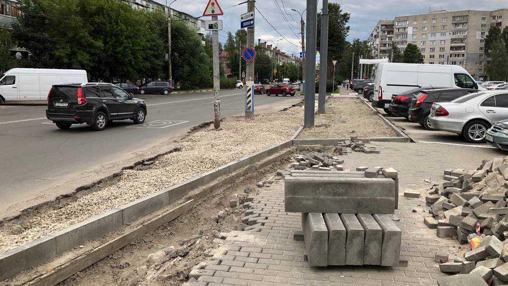 Ремонт дорог сделает удобнее проезд по улицам Бежицкого района Брянска