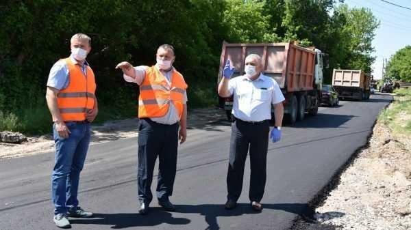 В Брянской области по состоянию на 1 июля уже отремонтировано более 250 км автомагистралей