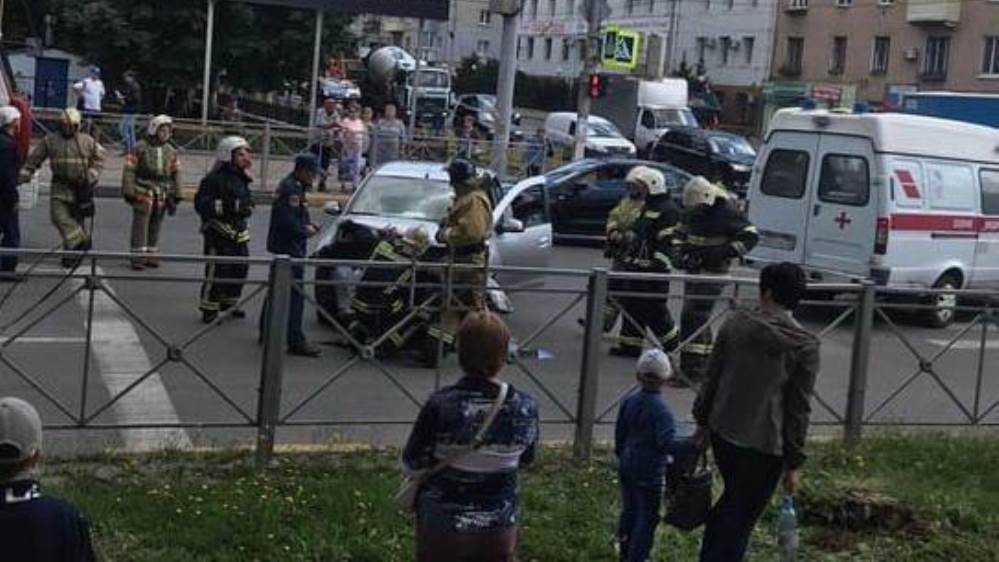 В ДТП на улице Никитина в Брянске ранен водитель