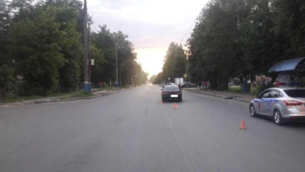 В Брянске водитель Nissan сбил 82-летнюю пенсионерку-нарушительницу