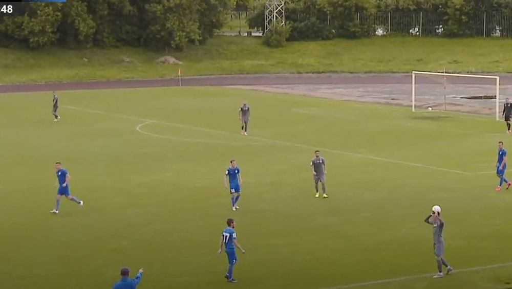 Брянское «Динамо» сыграло вничью с калининградской «Балтикой»