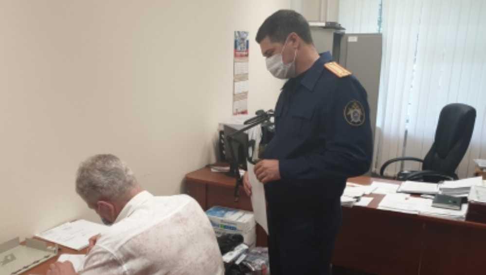 Следователи назвали причину задержании брянского чиновника Гинькина