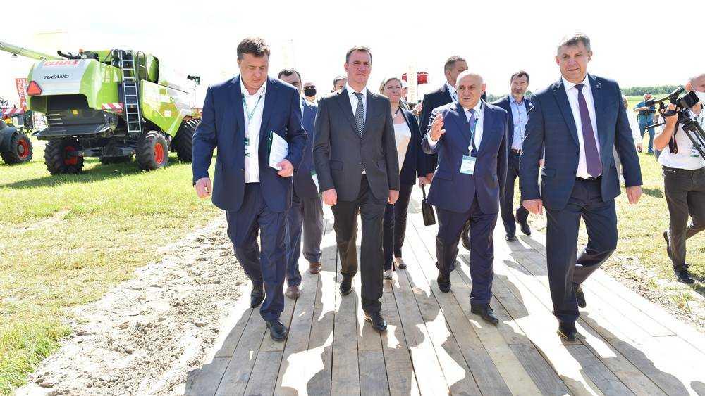 В Брянске министр рассказал, как будет развиваться российское село