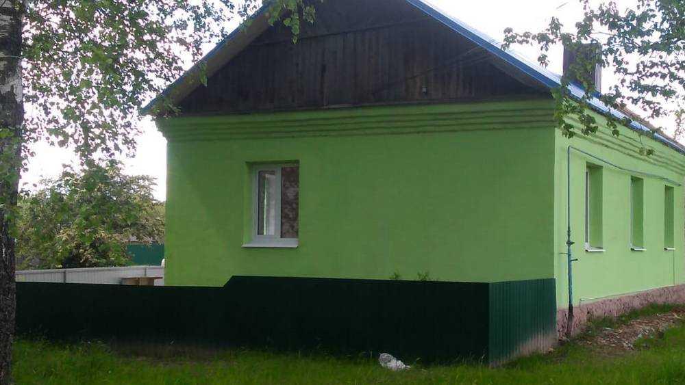 В Унечском районе завершился ремонт трех фельдшерско-акушерских пунктов