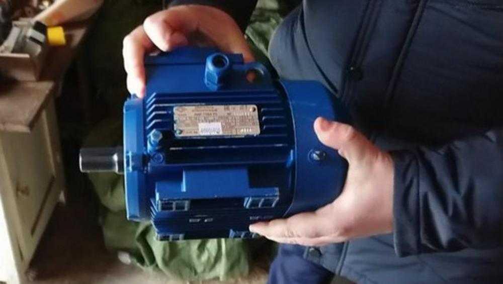 В Жуковке охотник за металлом оставил пилораму без электродвигателя