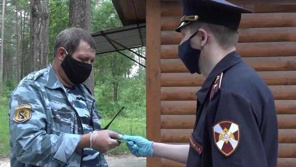 Брянские росгвардейцы проверили безопасность детских санаториев