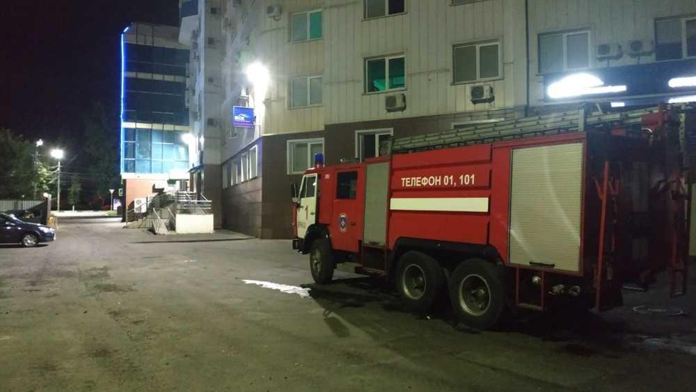 В Брянске наказали водителя, помешавшего проезду пожарных у «Мельницы»