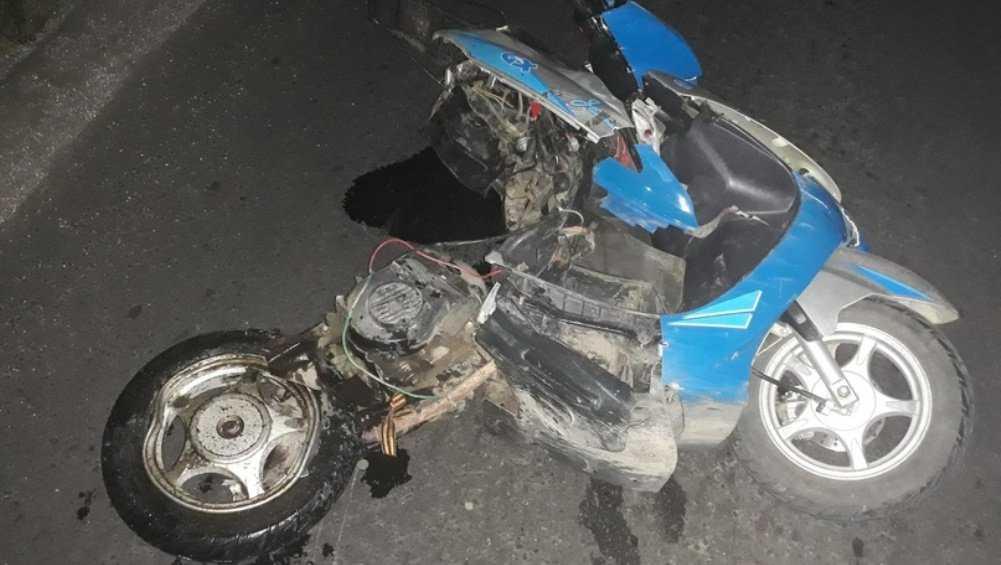 В Почепе погиб попавший под иномарку 37-летний мопедист