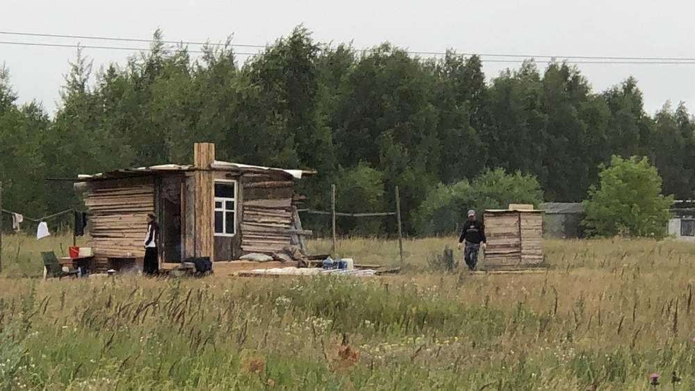 Под Брянском заложили элитный микрорайон цыганского типа