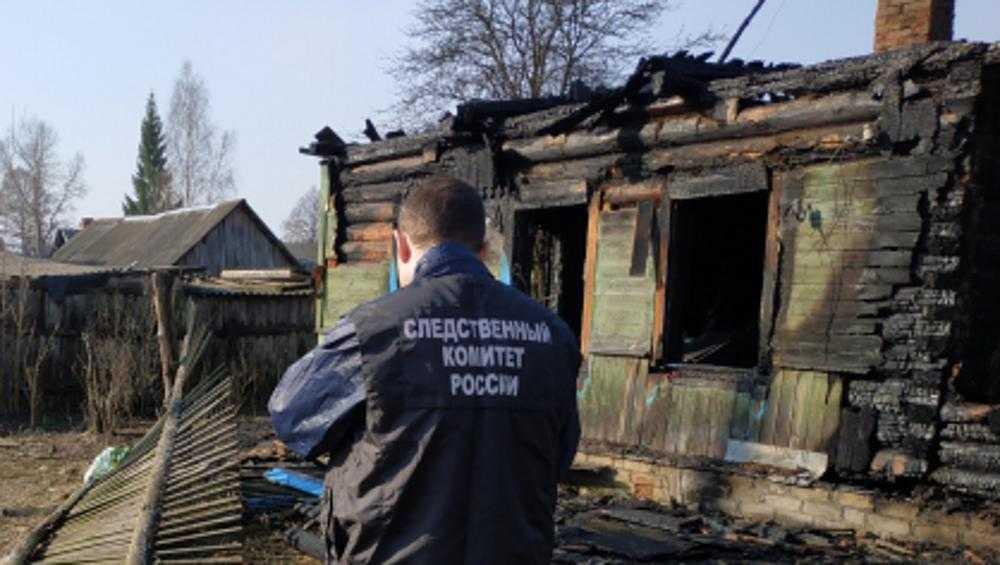 Житель Суражского района поджег свою жену – в пожаре погибли оба
