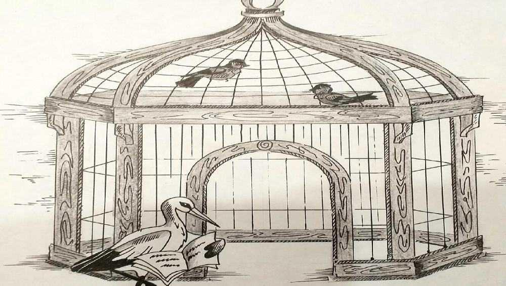В Новозыбкове построят беседку в виде птичьей клетки
