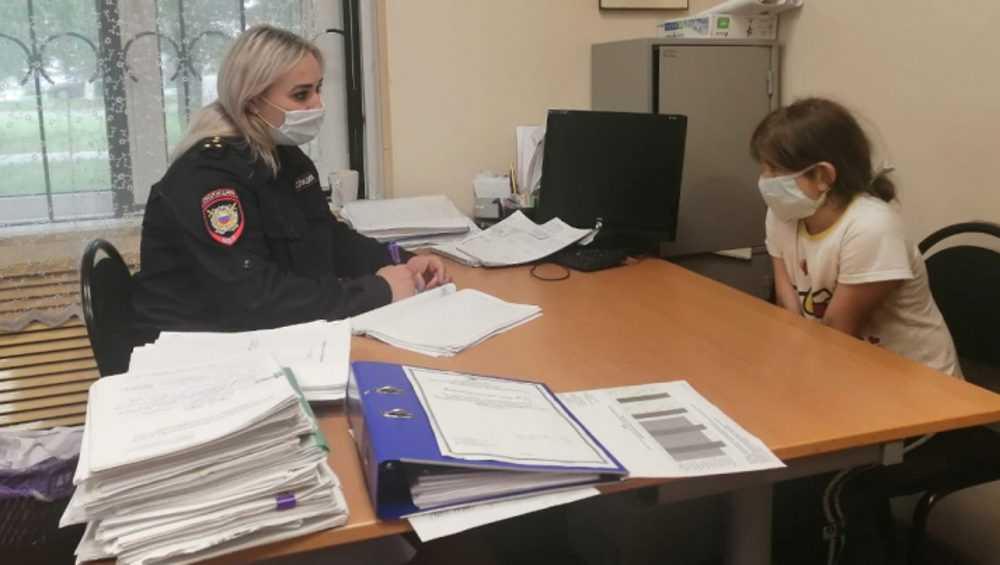 Брянские полицейские выявили случай жестокого отношения к ребенку