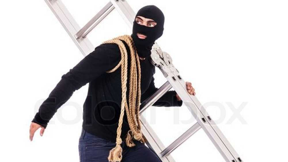 В Новозыбкове обокрали квартиру с помощью принесенной лестницы