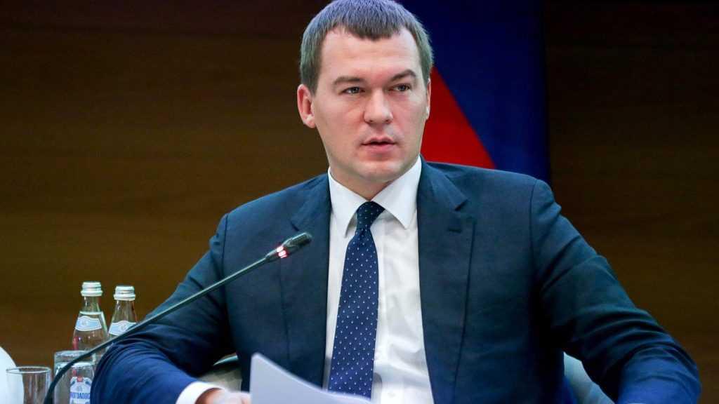 Путин назначил Дегтярева временным главой Хабаровского края