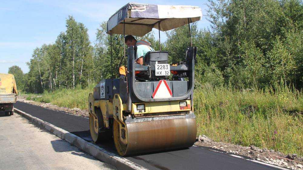Дорогу через брянские болота отремонтировали