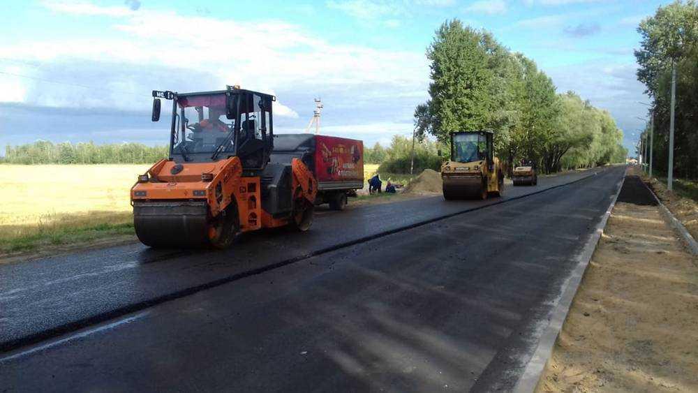 В Брянской области отремонтировали дорогу к Новозыбкову
