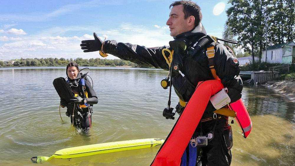 В мутном брянском озере нашли удивительные миражи