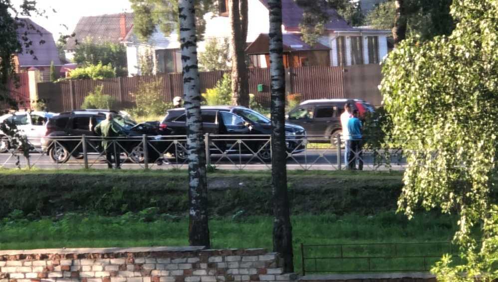 ДТП с тремя автомобилями произошло в Мичуринском под Брянском