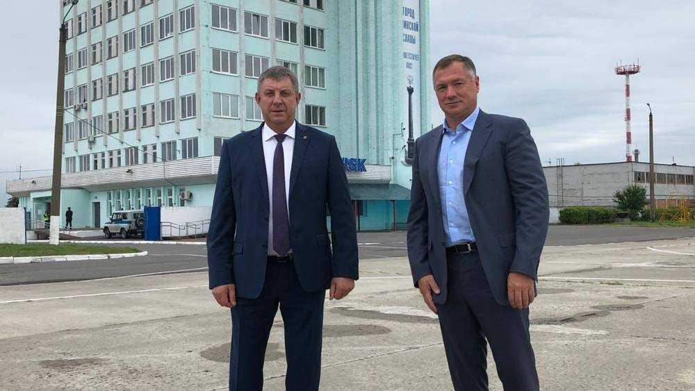 В Брянск прилетел вице-премьер МаратХуснуллин