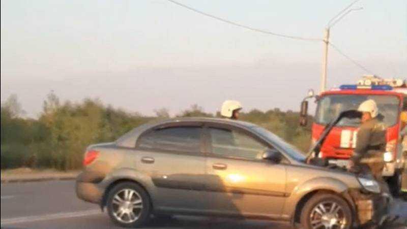 В Брянске при столкновении машин на Флотской пострадал человек