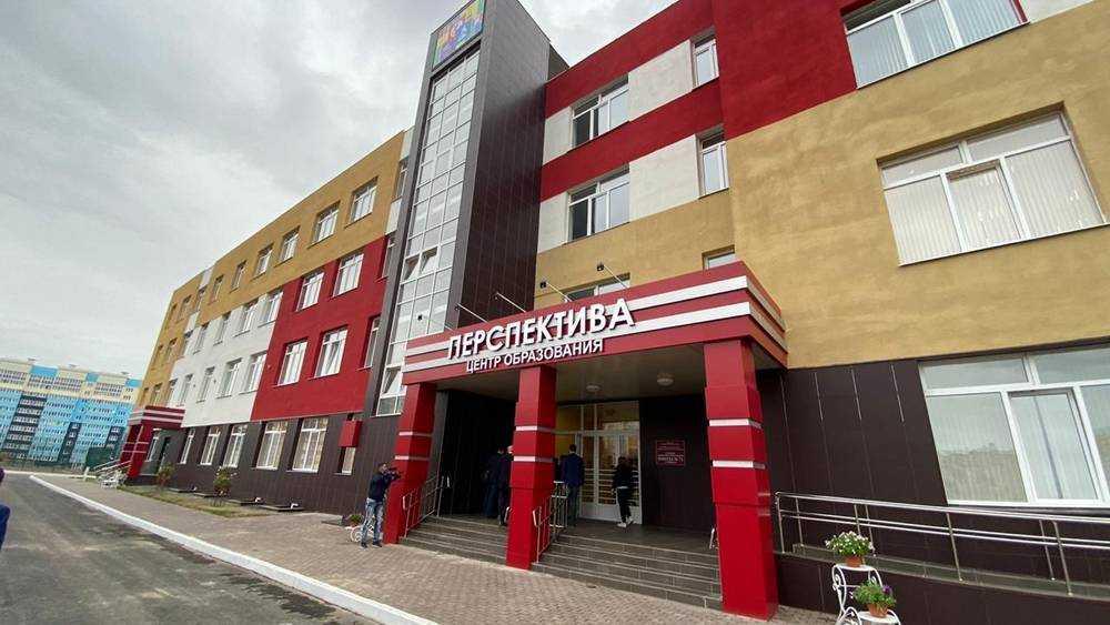 В Брянске вице-премьер Хуснуллин осмотрел центр образования и новую школу
