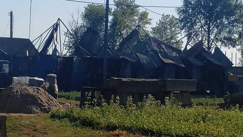 В Брянской области сгорел цех промышленника Чудопала