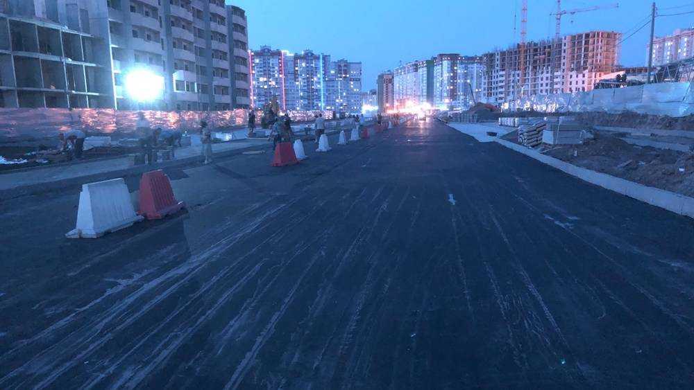 В Брянске проложили еще одну дорогу через старый аэропорт