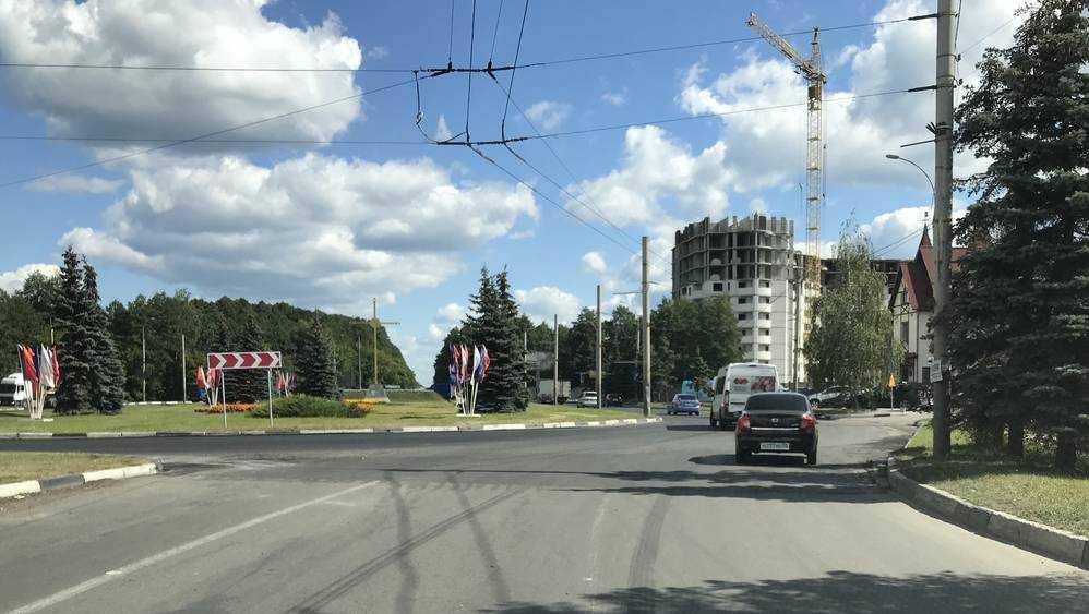 Отремонтирован «парадный» въезд в Брянск со стороны Москвы