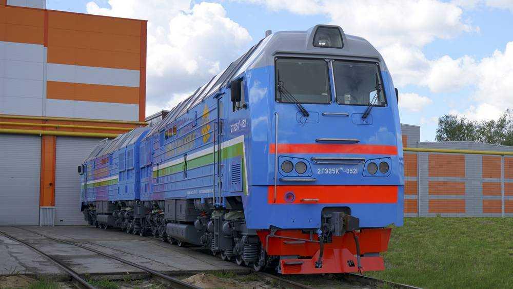 ТМХ выполнил обязательства по поставке  магистральных грузовых тепловозов в Узбекистан