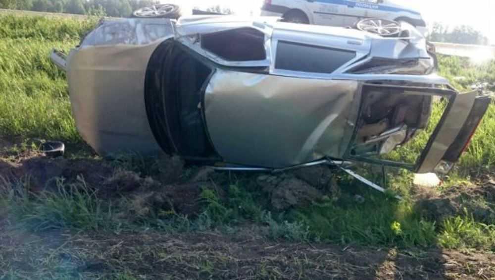 В Рогнединском районе пьяный водитель вылетел в кювет и покалечился