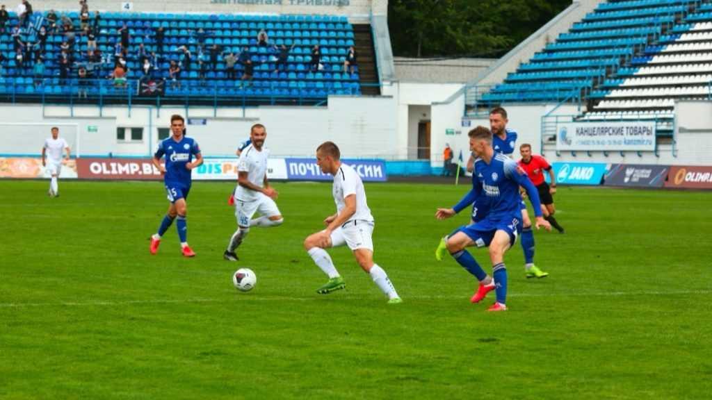 «Оренбург» победил брянское «Динамо»
