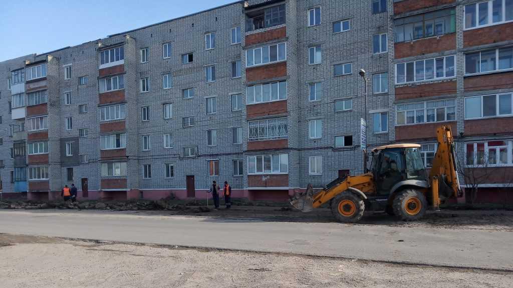 «Городская среда»: В городе Фокино активно благоустраиваются общественные и дворовые территории