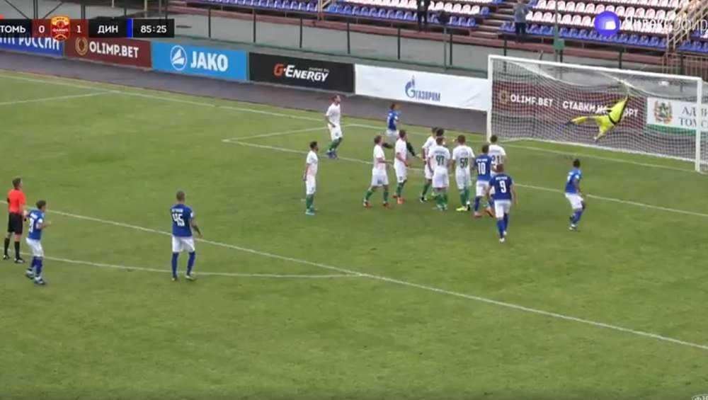Брянское «Динамо» одержало победу в Томске со счетом 2:0