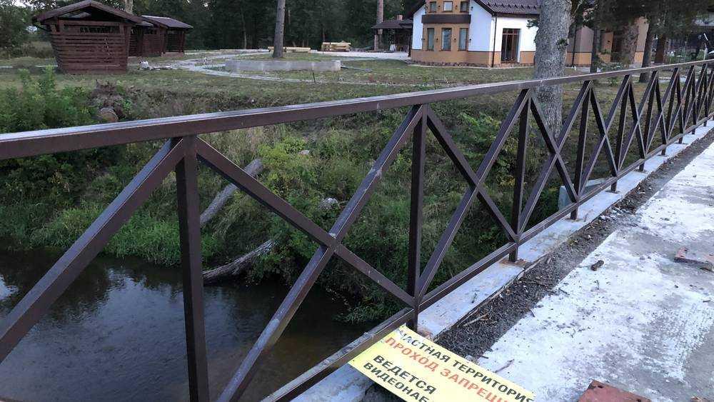 Под Брянском впервые в России реку объявили частной собственностью