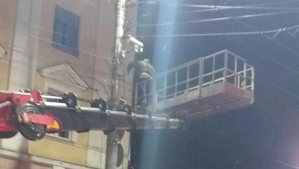 На проспекте Ленина в Брянске установили камеру видеофиксации
